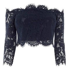 Designer Clothes, Shoes & Bags for Women Bridesmaid Tops, Lace Bridesmaids, Dark Fashion, Gothic Fashion, Wardrobe Images, Teen Fashion Outfits, Womens Fashion, Blue Crop Tops, Fairy Dress
