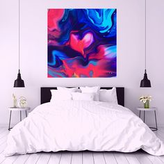 Acrylic Pouring, Beautiful, Color, Colour, Colors