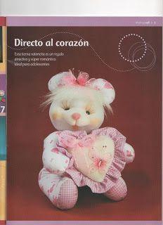 Muñecos soft paso a paso - Revistas de manualidades Gratis