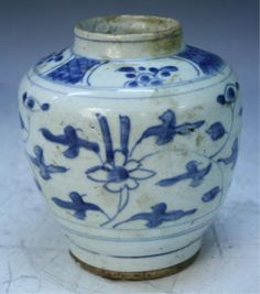 Important Antique Chinese Export Blue & White Porcelain : Lot 151