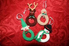 Crochet Christmas Ornaments Free Patterns | The WHOot