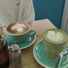 Cafe Food, Aesthetic Food, Latte, Coffee, Drinks, Breakfast, Tableware, Archive, Anna