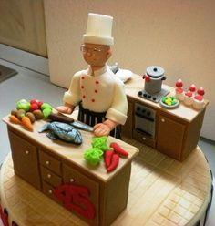 Fantastic Chef's cake