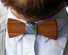 Wooden Bow Tie $55.00 - MyWonderList.com