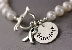 lung cancer bracelet