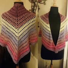 Image result for 4 ply crochet shawl pattern