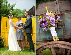 backyard diy wedding ideas | Do It Yourself Style Backyard Wedding - Rustic Wedding Chic