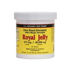 Queen Bee Organic Royal Jelly