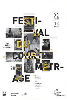 Affiche festival du court métrage   Magda Achkar, 2013