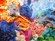 Paintings I by James Roper, via Behance