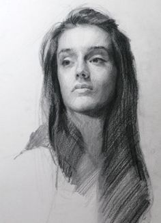 Charcoal Portrait by Louis Smith