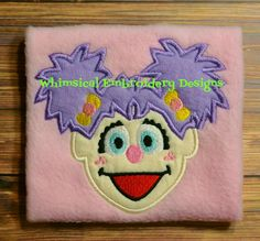 Abby Cadabby Machine Embroidery Applique Design - Whimsical Embroidery Designs