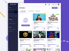 When You Need to Hire an Event Planner – Event Planning Types Of Planners, Dashboard Ui, Event Organiser, Event Marketing, Ui Ux Design, Event Management, Party Planning, How To Plan, Events