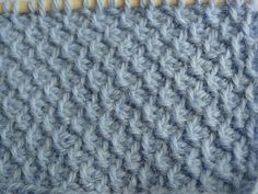 Tunisian Crochet Scarf 01