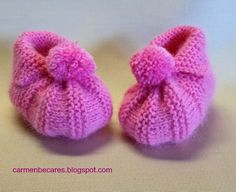 BABY BOOTIES. PATUCOS BEBE. ( TUTORIAL)