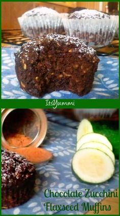 chocolate zucchini flaxseed muffins - this sugar free snack muffin is loaded with fiber and it's sugar-free, so it's diabetic friendly, too. Pineapple Health Benefits, Turmeric Health Benefits, Best Nutrition Food, Health And Nutrition, Health Tips, Proper Nutrition, Nutrition Guide, Nutrition Articles, Nutrition Chart