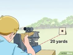How to Zero Your Rifle Scope. Learning to properly mount, sight and adjust a rifle scope will result in accurate shots and saved ammunition. If you want to learn how to do it yourself, you can learn to install and adjust your scope safely. Shooting Guns, Shooting Range, Shooting Targets, Shooting Sports, Ar Rifle, Rifle Scope, Hunting Rifles, Deer Hunting, Hunting Tips