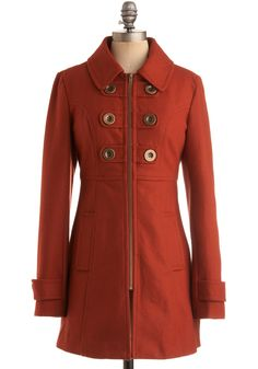 "Too many cute coats for a fickle and indecisive gal like me.  Humph.  ;)  ""Regimentary Dear Coat"""
