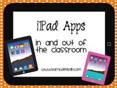 Learn With Leah: iPad Apps In and Out of the Classroom