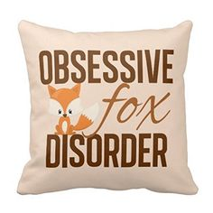 cotton polyester,Two Sides Same Printed Size: * 45 * Quantity pillow case (Pillow inner not included) Color: As the pi. Fox Crafts, Mr Fox, New York Pictures, Fox Decor, Ideias Diy, Little Fox, Fox Art, Cute Fox, Fox Design