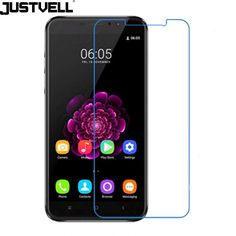JUSTVELL Oukitel U20 Plus Tempered Glass Film Screen Protector 9H 2.5D Protective Glass Film Mobile Phone Accessories
