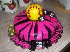Softball Cake - I want one!!