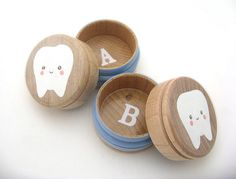 Tooth storage boxes for the #toothfairy! Smile Savvy, dental internet marketing @ www.smilesavvy.com #SmileSavvy #dentalinternetmarketing