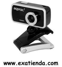 Ya disponible C?mara Approx 1.3mpx negra compact USB 2.0 appwc02b   (por sólo 16.99 € IVA incluído):   -Cámara web USB2.0 compatible con todas las aplicaciones de chat y messenger. Con botón de captura de instantáneas y micrófono integrado.  • Definición: 1,3 MegaPixels interpolados (800x600) • Tipo de chip CMOS: Color CMOS Image Sensor pixels VGA • Alta resolución: 800x600 • Formato de vídeo: 24-bit RGB • Interfaz: USB 2.0 • Imágenes por segundo: 230x240 ha