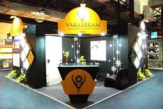 Exhibition Booth Design for Varaarkam Jewellers. Participating in Exhibition to promote your brand is one of the key factor for business success. Contact us http://www.expodisplayservice.ae/Index.aspx