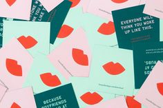 Love this branding for Beautified  (following on from the App, previously posted here ). Designed by Lotta Nieman , I love the colour palet...