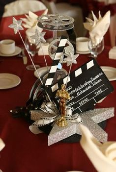 Hollywood Theme Centerpieces   Services - Entertainment - For the Good Times