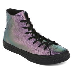 e05375cbc9e1 Converse Chuck Taylor All Star High Top Leather Womens Sneakers - JCPenney
