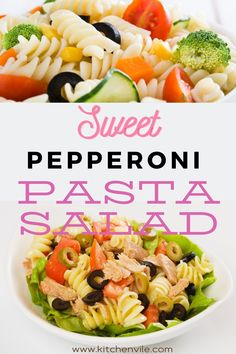 Pepperoni Pasta Salad Recipe, Simple Pepperoni salad for the whole family. Make it in a few minutes. salad recipe pasta/ summer salad recipes/ pastas salad/ vegetable salad recipe