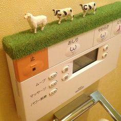 遊び心のあるオシャレ部屋に♡芝生シートを使ったアイデアインテリアの15枚目の写真