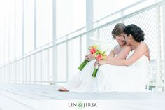 The Annenberg Beach House Wedding Santa Monica | Lauren and Dominique