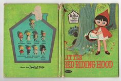"""Vintage Children's Book """"Little Red Riding Hood"""", a PeePul Pals Playstory Book, 1967, $4.50 on Etsy"""
