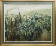 View DITCH WITH FERNS By Perpetua Pope; oil on canvas; Access more artwork lots and estimated & realized auction prices on MutualArt. Ferns, Oil On Canvas, Art Ideas, Art Gallery, Auction, Artwork, Painting, Art Museum, Work Of Art