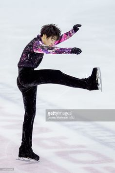 ニュース写真 : Yuto Kishina of Japan competes in the Junior Men...