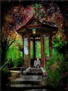 Something like this would be perfect as a backyard meditation retreat.