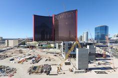 Resorts World Las Vegas construction update. Las Vegas Hotels, Resorts, Nevada, Construction, World, Travel, Hotels In Las Vegas, Building, Viajes