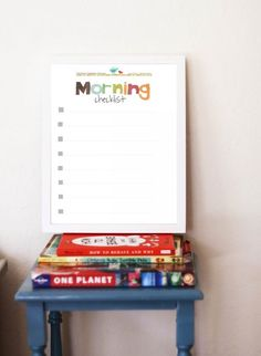make your morning a little easier! | Children Inspire Design's back to school morning checklist.  Its a freebie download!