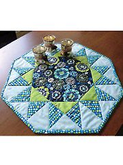Quilt - Quick & Easy Patterns - Table Toppers - Sunburst Table Topper Pattern