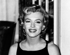 Marilyn Monroe at a press conference for The Prince and The Showgirl at the Savoy Hotel in London, July 16, 1956.