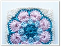 African Flower Square Tutorial ✭yummy: thanks so xox