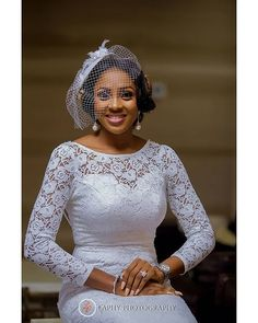 Is this the definition of flawless? 😊 The bride designed it herself 🖒 Dress: Photigraphy: Make Up: Accessories: Hair: back beauty Event: Facinator: Girls Bridesmaid Dresses, Blue Wedding Dresses, Elegant Wedding Dress, Wedding Gowns, Reception Dresses, African Wedding Hairstyles, Black Wedding Hairstyles, African Wedding Attire, Lace Dress Styles