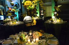 Sports-themed bar mitzvah created by @Mindy Weiss #barmitzvah #theme #sports