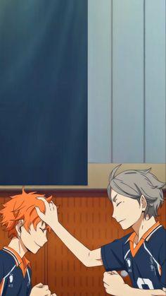 Cute Anime Guys, All Anime, Anime Manga, Anime Art, Haikyuu Karasuno, Haikyuu Fanart, Haikyuu Anime, Anime Wallpaper Phone, Haikyuu Wallpaper