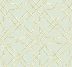 Bamboo Trellis Wallpaper design by York
