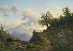 Josef Thoma (1828-1899) Austrian painter