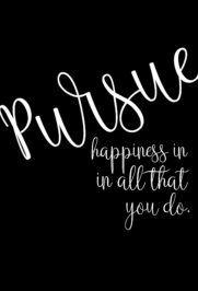 Pursue Happiness Print |The Social Gem (www.thesocialgem.com)